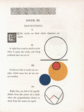 Definitions of the properties of circles, 1847.