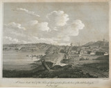 'A Direct South View of Sydney', c 1798.