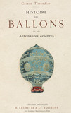 Title page of Tisandier's book on ballooning, 1887.