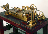 Engraving machine, c 1830.
