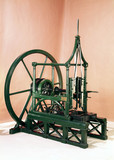 Maudslay's mortising machine, 19th century.