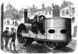 Aveling and Porter 'road roller', 1867.