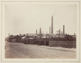 The Perkin dyestuffs factory at Greenford Green, Middlesex, c 1870.