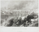 'Newcastle from the South-west', 1849