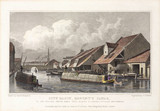 'City Basin, Regent's Canal', London, 1827.