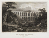 'The Golzsch-thal Viaduct', Saxony, Germany, c 1840.