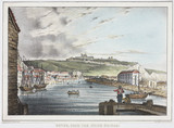 'Dover, from the Union Bridge', Kent, c 1837.