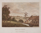 'Thames-head Bridge', 1799.