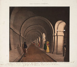'The Thames Tunnel', London, c 1835.