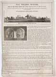 'The Thames Tunnel', London, 1835.