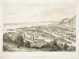 'View of Swansea', Wales, 1850s.