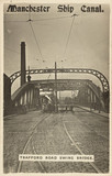 'Manchester Ship Canal, Trafford Road Swing Bridge', Manchester, 1900s.