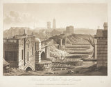 'The Demolition of Old London Bridge, 26 January 1832'.