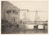 A Dutch bridge, 1920.