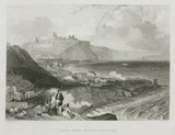 'Dover from Shakspere's Cliff', Kent, c 1860s.