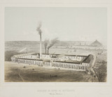 Sugar beet works and refinery at Waterloo, Belgium, 1830-1860.