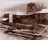 Pit Ocean Colliery, Wales, 1880-1895.