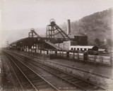 'Royal Marine Collieries', Ebbw Vale, Wales, 1880-1895.