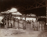 Shed and incline furnaces, South Wales, 1880-1895.
