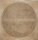 Large map of the Moon, by Wilhelm Lohrmann, 1878.
