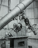 The Yerkes refracting telescope at Williams Bay, Wisconsin, USA, 1915.