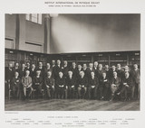 Sixth Solvay Physics Conference, Brusels, 1930.