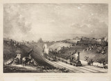 The opening of the Glasgow & Garnkirk Railway, 1831.