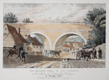 'The Oblique Arch...', the London & Birmingham Railway', 19th century.