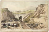 'View of North Church Tunnel, London & Birmingham Railway', 1833-1838.