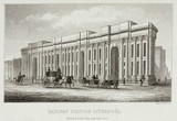 Lime Street Station, Liverpool, 1836.