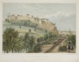 'Edinburgh Castle from the Mound', 1842.