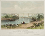 Victoria Bridge, Tyne & Wear, 1838.