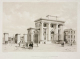 'Entrance to Birmingham Station',  1838-39.