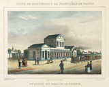 The railway station at Braine-le-Comte, Belgium, 1843.