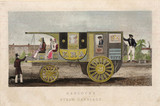 'Hancock's Steam Carriage', 1834.