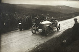 Racing car, Waddington Fells, Lancashire, c 1912.