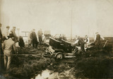 Accident, Manchester Automobile Club Hill Climb, 1912.