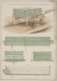 'Francis' Corrugated Metal Waggon Body', 1855.