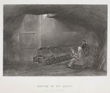 'Bottom of Pit Shaft', Durham or Northumberland, 1844.