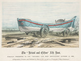 The Bristol and Clifton Life Boat, 1866.