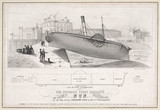 'The Woodside Ferry Co's 'Nun' iron steam boat',  1842.