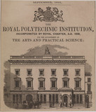 The Royal Polytechnic Institution, London, 1851.