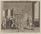 'The First Lecture in Experimental Philosophy', 1748.