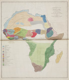 'Ethnographical Map of Africa, in the Earliest Times', 1843.