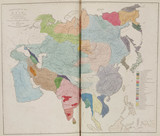 'Ethnographical Map of Asia, in the Earliest Times', 1843.