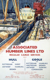 'Asociated Humber Lines', BR poster, 1961.