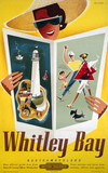 'Whitley Bay', BR poster, 1950-1965.