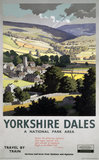 'Yorkshire Dales', BR poster, 1961.