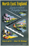 'North East England', BR poster, 1959.