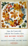 'Enjoy the Countryside', BR (SR) poster, 1948-1965.
